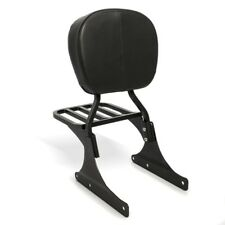 Sissy Bar+porte bagages pour Harley Davidson Heritage Softail Classic 88-18 noir