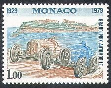 Monaco Car & Motoring Postal Stamps