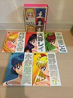 Sailor Moon Sailor Team official fan book complete art set Naoko Takeuchi 1996