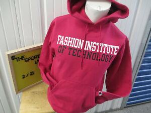 VINTAGE Champion  F.I.T. FASHION INSTITUTE OF TECHNOLOGY MEDIUM SWEATSHIRT HOODI