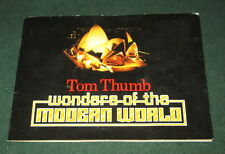 WONDERS OF THE MODERN WORLD SET OF 30 PLAYERS/TOM THUMB CIGAR CARDS IN ALBUM