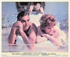 DIAMONDS ARE FOREVER SEAN CONNERY JILL ST JOHN JAMES BOND ORIGINAL LOBBY CARD