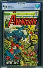 AVENGERS 143 CBCS CGC WHITE PAGES 9.6 SPIDERMAN 1 COMIC HULK THOR IRONMAN XMEN