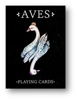 Bicycle Aves 2 Black Versione Poker Carte da Gioco