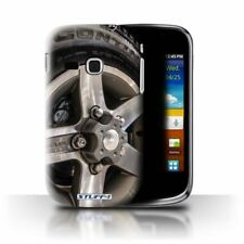 Silver Rigid Plastic Cases & Covers for Samsung Galaxy mini