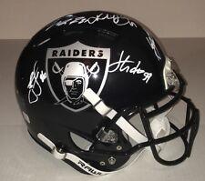 OAKLAND RAIDERS Signed Autographed AUTHENTIC Football Helmet COA! JANIKOWSKI+