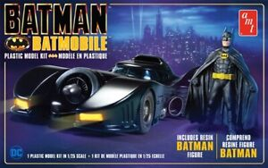 AMT BATMAN 1989 BATMOBILE W/RESIN BATMAN FIGURE 1:25 SCALE MODEL KIT