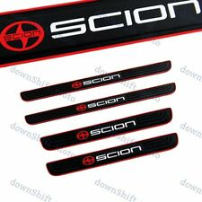 For Scion Black Rubber Car Door Scuff Sill Cover Panel Step Protector 4Pcs New (Fits: Scion)
