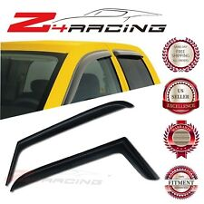 For 1997-2006 Jeep Wrangler TJ Vent Shade Guard Window Visors Deflector Smoke 2P