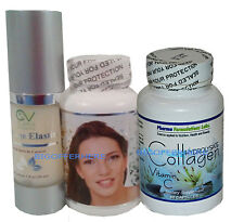 Kit Maravilloso!!Colageno&Colagina10 (caps)/Crema de Colageno&Elastina,Collagen