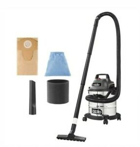 Ozito 1250W 12L Stainless Wet And Dry Vacuum Indoor Outdoor with Blower