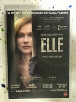 ELLE DVD ISABELLE HUPPERT PAUL VERHOEVEN - ESPAÑOL CATALAN FRANCES AM