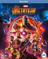 *NEW* Avengers: Infinity War (Blu-ray, 2018) English, Russian, Hindi