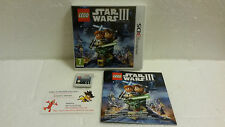 Jeu Vidéo Nintendo 3DS/2DS Lego Star Wars 3 The Clone Wars III Lucasarts VF Saga