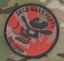 USAF Special Operations MC-130H COMBAT TALON II DEAD MAN'S PARTY velkrö PATCH
