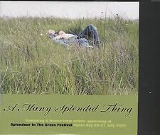 A Many Splendid thing cd Splendour in the Grass Festival Byron bay july 2002