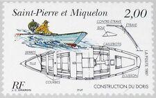 ST Dessins navals du patrimoine maritime boatbuilding PIERRE MIQUELON SPM 1997 724 637 *.