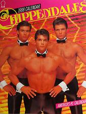 RARE CHIPPENDALES 1988 CALENDAR