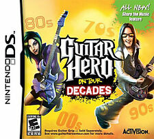 Guitar Hero: On Tour Decades with hand grip.