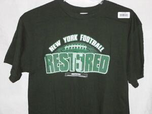 New York Jets adult t-shirt-LARGE-Mark Sanchez #6-Super Fan PRICE