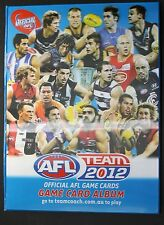 2012 TeamCoach Full Base set in Album 198 cards Team Coach Folder
