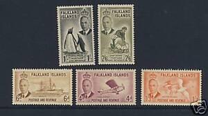 Falklands - Penguins, Sheep, Birds, Aviation, Ships