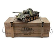 1:16 Torro German Panther Ausf G Rc Tank 2.4Ghz Infrared Metal Edition Pro