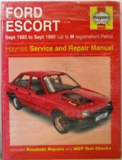 Ford Escort 1990 Car Service & Repair Manuals