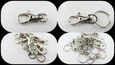 Karabinerhaken mit oder ohne Schlüsselring, Schlüsselanhänger, wählbar