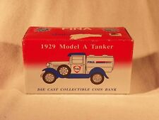 Fina 1929 Model A Tanker Die Cast Collectible Coin Bank #2004 of 5000