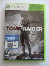 Tomb Raider (Microsoft Xbox 360, 2013) Walmart Exclusive extras download