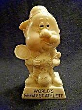 Cute Vintage 1971 Russ Berries #9025 Worlds Greatest Athlete Figurine Statue