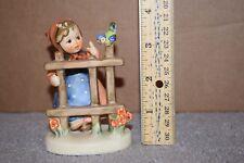 "Vintage Hummel Figurine ""Signs Of Spring"" Hum 203 2/0 Trademark 6 No Box"