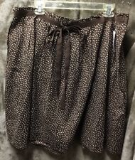 NEW! Gap Brown Polka Dot Flared Skirt Size 16 NWT $59.50