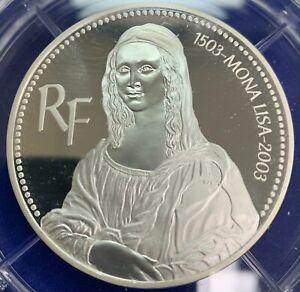 Monnaie, France, Coffret 20 Euro, 2003, BE, Argent, 999 exemplaires RARE