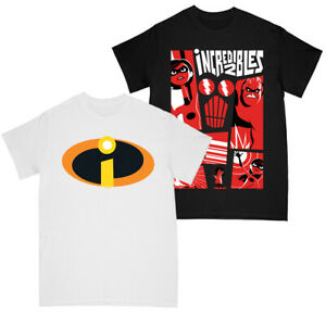 Disney The Incredibles 2 Boys Costume Logo - Collage T-shirt Multi Pack of 2