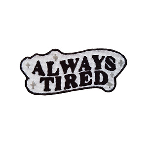 Funny Embroidered Iron On Patches Jacket Badge Jeans Applique Feminist Quote