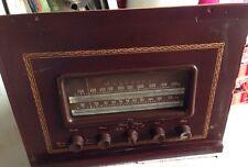 Vintage Magnavox 327 AA AM FM Vacuum Tube Radio Console Tuner