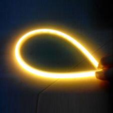 2pcs Car LED Light Strip DRL Automotive Turn Signal Light  Tape Flexible Light