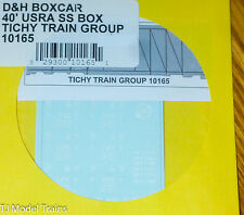 Tichy Train Group #10165 Decal for: D&H Boxcar 40' USRA SS Box (HO Scale)