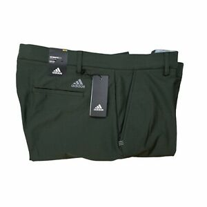 Adidas Ultimate 365 Tech Golf Pants Regular Fit Green 38x32 $80