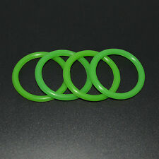 GREEN BILLET BUMPER TRUNK QUICK RELEASE FASTENER KIT REPLACEMENT RUBBER O RING