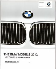 BMW 2010 UK Market Sales Brochure 1 3 5 6 7 Series Z4 X1 X3 X5 X6