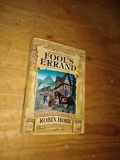Fool's Errand (The Tawny Man, Book 1) Robin Hobb Hardcover 1st