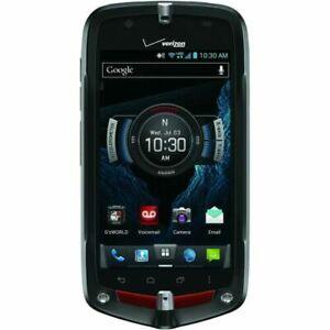 VERIZON 4G Casio GzOne Commando C811 - Black 4G LTE GSM Android Touch Smartphone