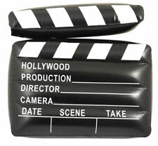 Inflatable Clapper Board Movie Director Hollywood Film Prop Party 43cm x 34cm