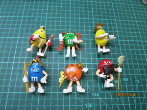 Taiwan  limited M&M's Character m&m 6 Mini Figure Collectible