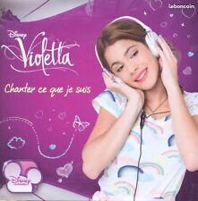 Violetta Chanter ce que je suis CD +DVD  NEUF