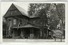 Vintage Real Photo Postcard RPPC Netherlands Museum Holland Michigan MI 1940s