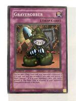 YUGIOH! GRAVEROBBER 1st ED PSV-008 SUPER RARE Trap Card NEVER PLAYED!